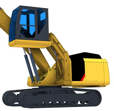 Cat320 Hubkabine